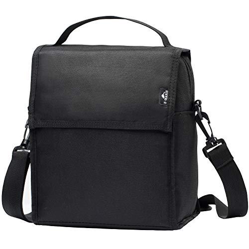 E-MANIS معزول حقيبة الغداء الكبار مربع الغداء