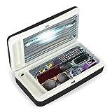 Puritize Home - UV Light Sanitizer - Large UVC Sterilizer Box for Phones, Remotes, Credit Cards, Bottles - UV Phone Sanitizer - Kills 99.9% of Germs, Viruses, and Bacteria
