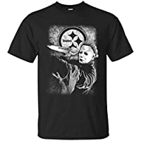 Who Are You Now Glitch Pop Art Vintage Scary Horror Abstract Black T-shirt S-6XL,L