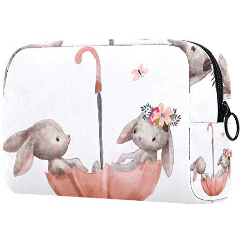 Neceser de viaje, bolsa de viaje impermeable, bolsa de aseo para mujeres y niñas, gato lindo