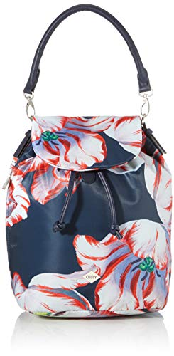 Oilily Damen Picnic Backpack Mvf Rucksack Blau (darkblue)