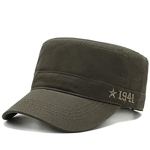 Gorras 1941 sombrero masculino alero corto gorra plana gorra