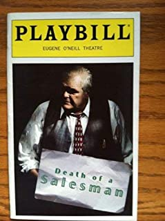 Color Playbill from Death of a Salesman starring Brian Dennehy Elizabeth Franz Kevin Anderson Ted Koch Written by Arthur Miller