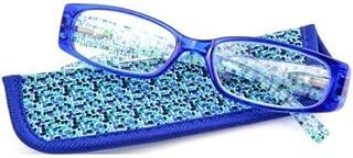 Foster Grant Eyesential Women's Iliana Reading Glasses, Blue +1.25