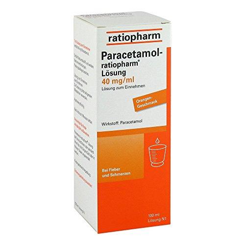 PARACETAMOL ratiopharm Saft 100 ml