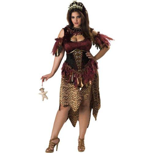 Big Sale Voodoo Priestess Costume - XX-Large - Dress Size