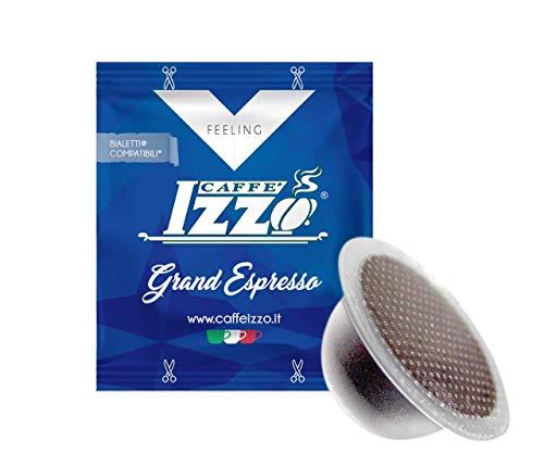 100 Capsule Izzo compatibili Bialetti miscela Grand Espresso