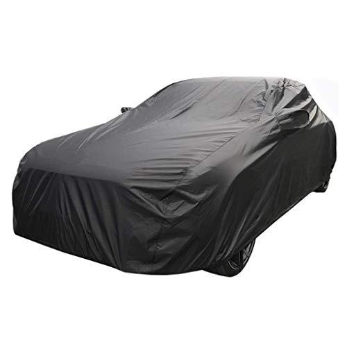 Autoabdeckung Vollgarage Auto Abdeckplane Mercedes-Benz SL 300 350 400 500 Oxford Cloth Auto Cover, Indoor- Und Outdoor-Allwetter Wasserdicht Staubschutz-Plane ( Color : Black , Size : Built-in lint )