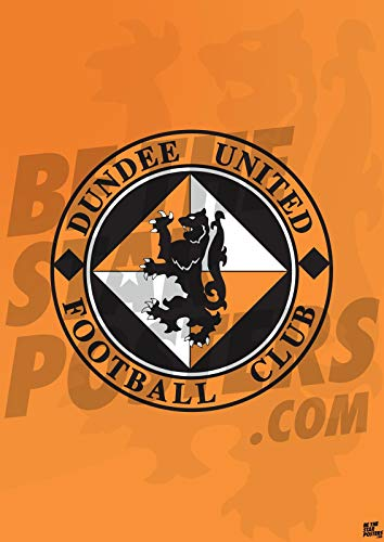 Dundee United FC A2 Crest Football Poster/Print/Wall Art - Officially Licensed Product - Available in Sizes A3 & A2 (A2)