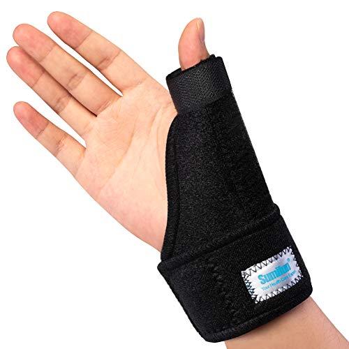 Sumifun Daumen-Handgelenkbandage| Daumenschiene Daumen Bandage | Daumenschiene bei Sehnenentzündung & Kapselverletzung,