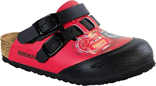 BIRKENSTOCK Clog Kay Cars 3 red 1008678, Größe + Weite:26 schmal, Farben:Cars 3 red