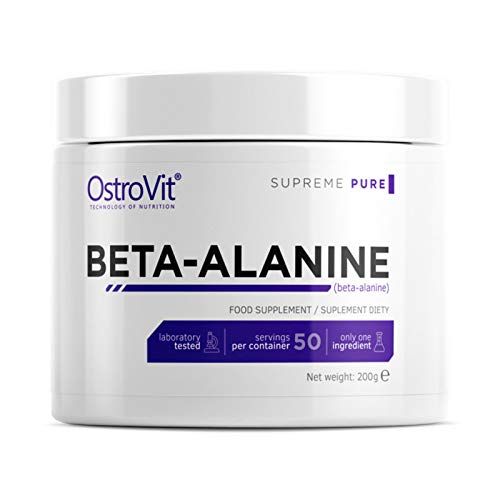 BETA Alanine Powder 200g - 50 Servings | Pre-Workout Booster | Energy & Endurance | Performance Amplifier