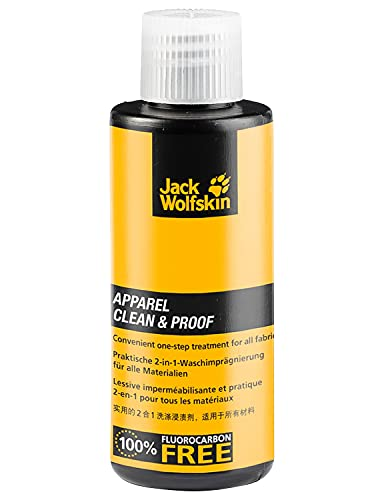 Jack Wolfskin APPAREL CLEAN & PROOF 60 bluesign-zertifiziertes Imprägniermittel, gelb, ONE SIZE