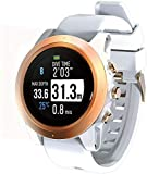 HOG Atmos Mission One Dive Computer/Smart Watch (White/Gold)