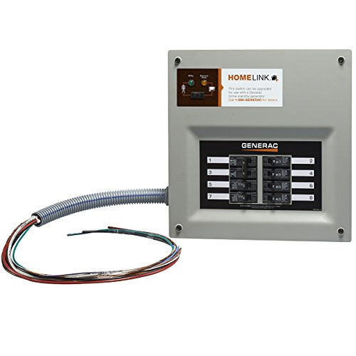 Generac 6852 Home Link Upgradeable Transfer Switch Kit, 30 Amp