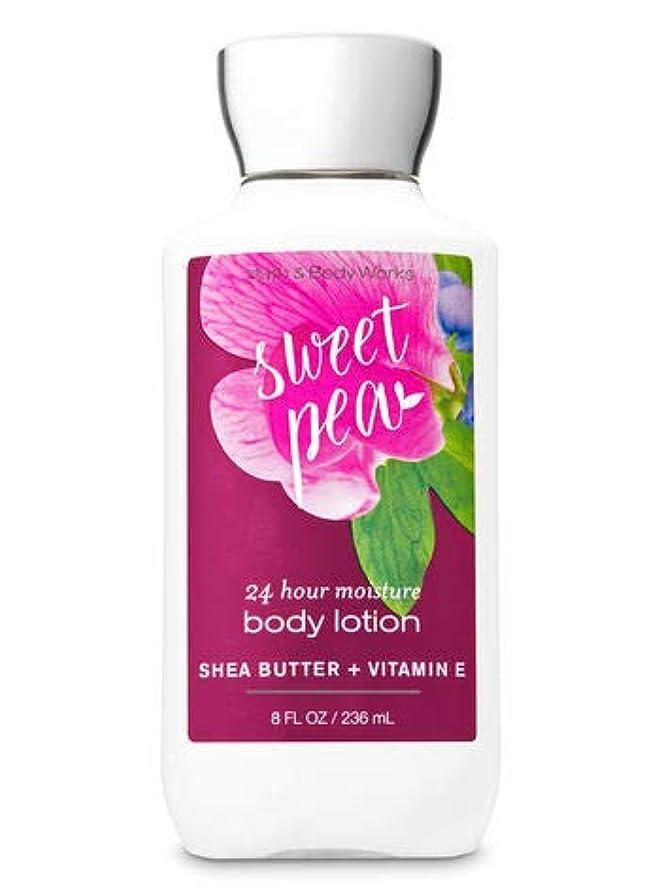 ジャズ仮称プレビューBath & Body Works Sweet pea body lotion 236ml 並行輸入品