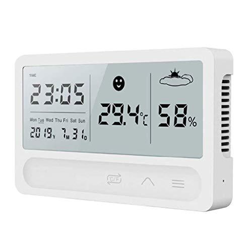 FENXIXI Camera Termometro - Temperatura e l'umidità Meter Sveglia Muto Camera termometro