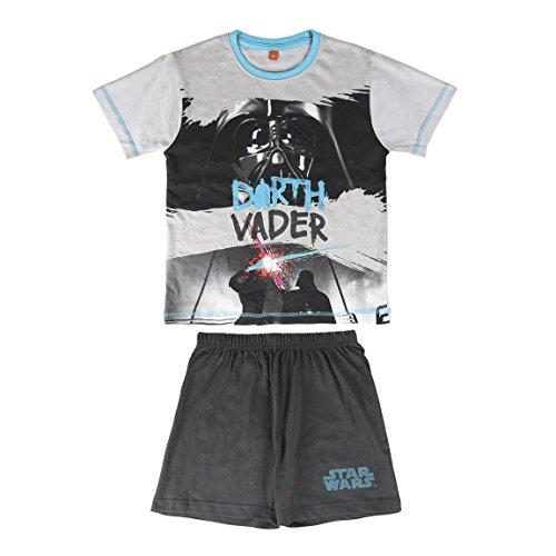 Star Wars - pijama manga corta 2 piezas 100% algodón (8 añ