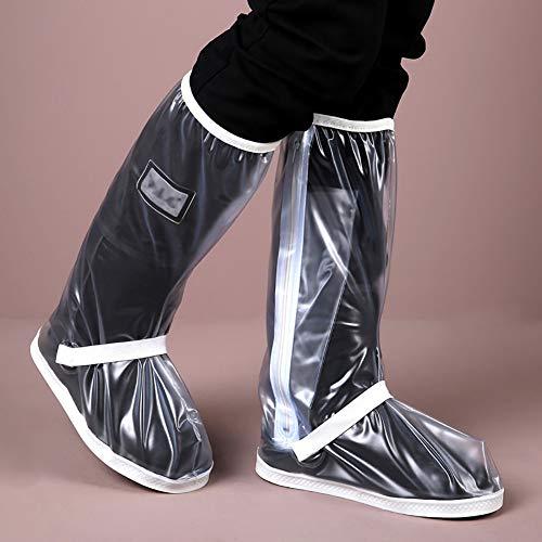CXD Regenschoenen Waterdicht En Anti-slip schoenovertrekken Met reflector Voor Fietsen Motorfiets outdoor Bauer