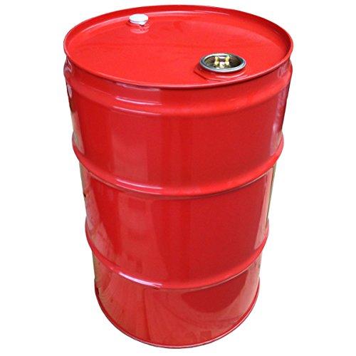 60 Liter Blechfass Stahlfass Fass Garagenfass Ölfass NEU Farbe: ROT