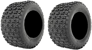 Pair of ITP Holeshot (4ply) ATV Tires Rear 20x11-10 (2)