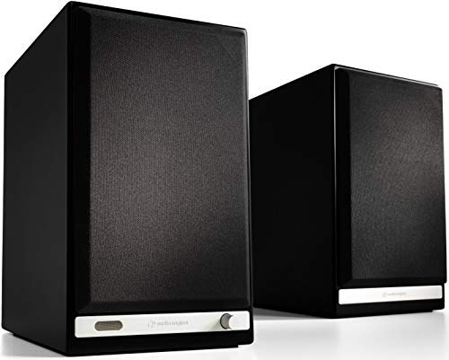 Audioengine HD6 Wireless Speaker | Desktop Monitor Speakers | Home Music System aptX HD Bluetooth,...