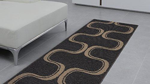 Swedy Teppich Schwedisch Waschbar für Küche mod. Waves
