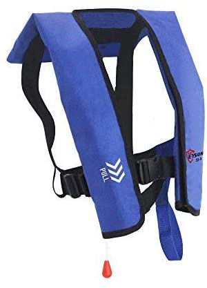 Top 激安☆超特価 Safety Adult Life Jacket with Manual Infla Whistle 倉庫 - Version