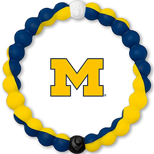 Lokai University of Michigan Game Day Silicone Collegiate Bracelet,...