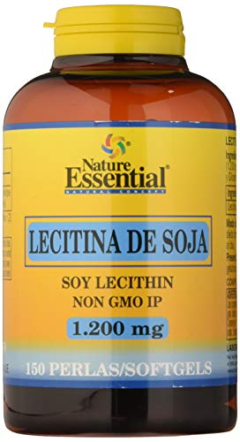 Lecitina de soja 1200 mg. 150 perlas
