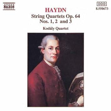 HAYDN: String Quartets Op. 64, Nos. 1- 3