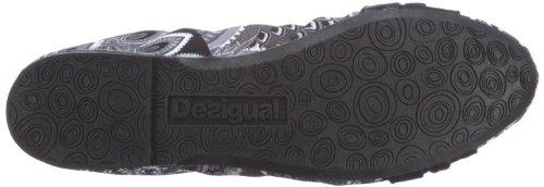 Desigual Shoes_Six 21BS106, Ballerine Donna, Nero (Schwarz (Negro)), 39