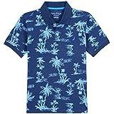 Nautica Little Boys' Short Sleeve Printed Polo...
