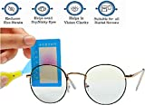 E FASHION UP Premium Frame with Blue Ray Cut Block Anti glare Glasses