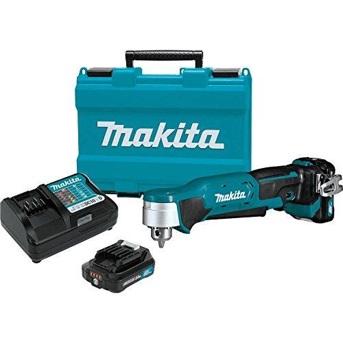 """Makita AD03R1 12V max CXT Right Angle Drill Kit, 3/8"""""""