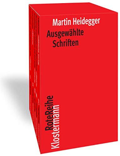 Ausgewählte Schriften. 5 Bände in Kassette (Klostermann RoteReihe)