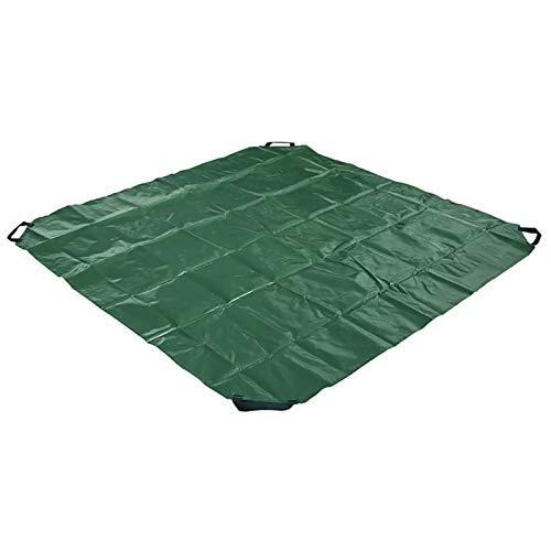 æ - Bolsas de basura de jardín, reutilizables, bolsas de almacenamiento de hojas, bolsa de recortes de plantas con cordón plegable contenedor para jardinería, jardín, hoja, desechos de patio y piscina