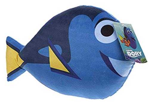 Kissen mit Emoji-Emoticon-Smiley-Kissen, gefüllt, Einhorn, für Kinder, Finding Dory (Dory)