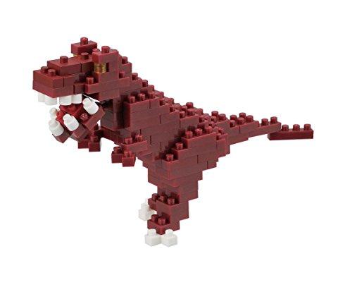 nanoblock - Puzzle 3D Dinosaurios de 240 Piezas (NAN-NBC111)
