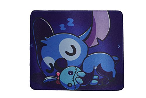 12x10 Inch Cartoon Lilo and Stitch Cute Q Fans Gaming collection Office Mouse Pad non slip Rubber Mouse mat