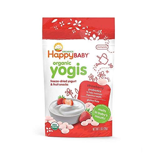 Happy Baby Yogis Baby Food, Strawberry, 1 oz