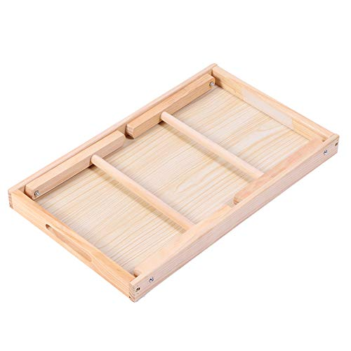 Draagbaar bedtafel, opvouwbaar ontwerp Antislipontwerp heeft vele toepassingen Bedtafel met antislipontwerp en opvouwbaar ontwerp voor voedselbakken en voedselopslag buitenshuis