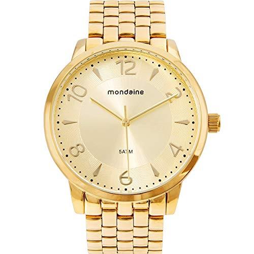 Relógio, Analógico, Mondaine, 76740LPMVDE2, feminino, Dourado