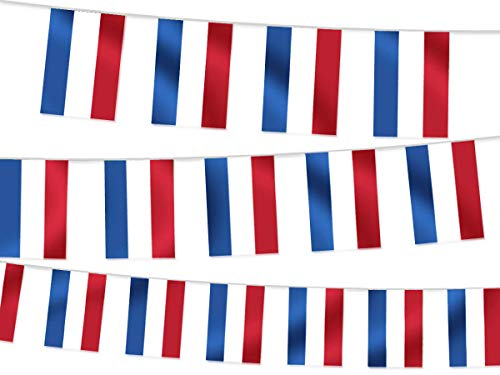 Alsino Wimpel Decoratie Landen vlaggen Wimpelketting landvlaggen Fanartikel 8 m W-NL Wimpel Nederland 4,50 m