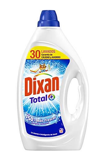 Dixan Detergente Líquido Total – 30 lavados (1,5L)