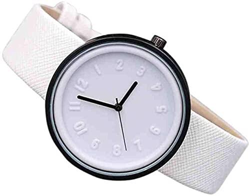 Mano Reloj Relojes de reloj de pulsera para mujeres Pulsera Unisex Simple Moda Número de moda Relojes Cuarzo Cinturón Reloj de pulsera Reloj Reloj Vestido Reloj de pulsera Lujo Relojes Decorativos Cas