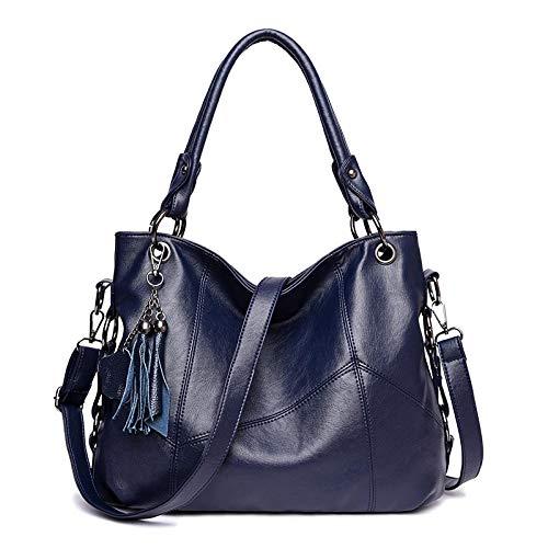 Dames tas nieuwe handtas mode kwast zacht leer schouder Messenger tas