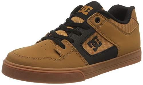 DC Shoes Pure Elastic - Shoes - Schuhe - Jungen 8-16 - EU 36 - Gelb