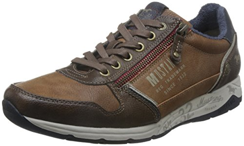MUSTANG Herren 4106-306 Sneaker, Braun (Kastanie 301), 44 EU