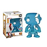QTSL Pop Figures God of Games War BlueKratos25# Vinyl Action Figure Toy Collection Model Doll Gifts For Children Xmas with Box 10Cm